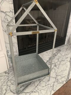 LARGE HEARTH & HAND LANTERN with Legs 24 in ish tallLike New!!!