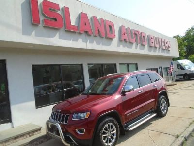 2015 Jeep Grand Cherokee Limited 4x4 4dr SUV (Red)