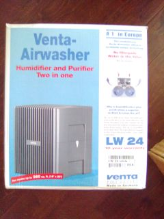 New in box vents humidifier and purifier