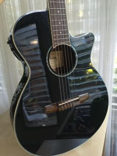 Ibanez acoustic electric guitar, like NEW