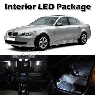 Buy 15x White LED Interior Lights Package for BMW E60 4dr 2004-2010 Error Free Lamps motorcycle in Cupertino, CA, US, for US $36.85