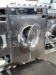 Unimac Front Load Washer 50LB 3PH UC50PC2 Stainless Steel AS-IS