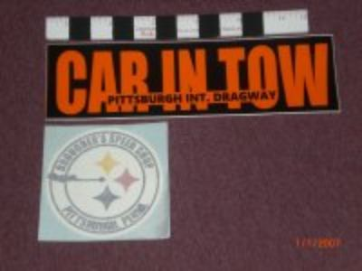Pittsburgh Int. Dragway Bumper Sticker