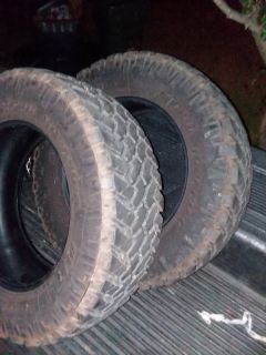 2- Nitto Trail Grappler Tires