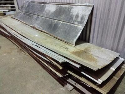 10/12 ft corrugated tin sheets (20 or more available)