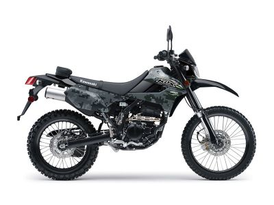2018 Kawasaki KLX 250 Camo Dual Purpose Motorcycles Littleton, NH