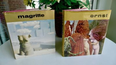 2 Art Books (Great Masters of Art Series) Magritte & Ernst