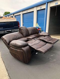 Two Set Leather Couches