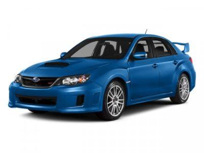 2014 Subaru Impreza WRX STI Limited (WR Blue Pearl)