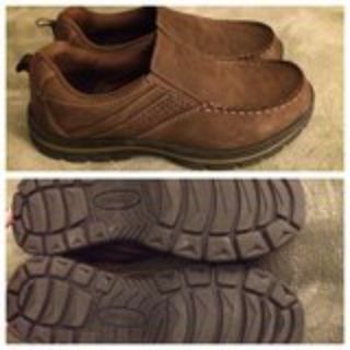 Men s sz 8 casual loafers shoes