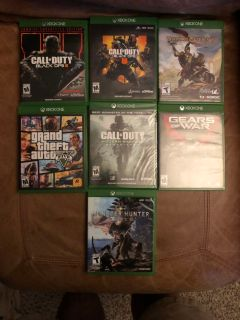 Various XBoxOne Games