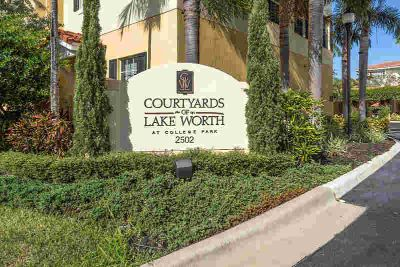 2502 N Dixie Highway #2 Lake Worth Three BR, Courtyards of at