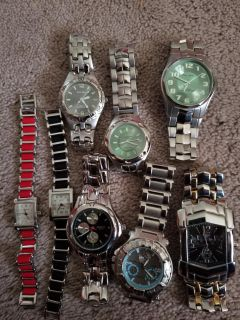 Watch lot (New) all new but need batteries . $ 10 for all