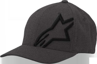 Purchase Alpinestars - Corp Shift 2 Flexfit Hat, Grey/Black Sm/Md - (1032810081751SM) motorcycle in Dimondale, Michigan, United States, for US $26.00