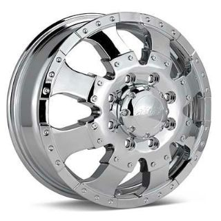 "Sell 17""Ultra Goliath Dually Chrome Wheels Dodge 2500 3500 motorcycle in Victorville, California, US, for US $1,472.00"