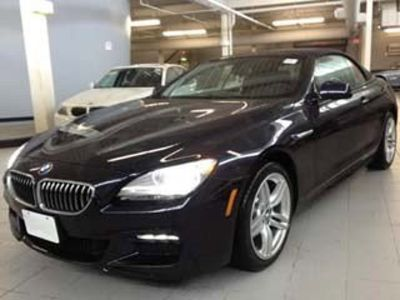 2014 BMW 6-Series 640i xDrive (Carbon Black Metallic)