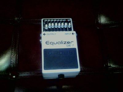 Boss GE-7 Graphic Equalizer Guitar Pedal