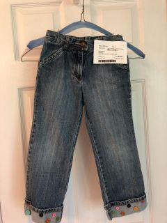 Gymboree - Jeans with a cute button details on cuffs