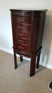 Large jewelry cabinet