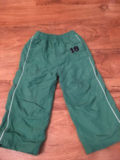 Children s Place brand wind breaker pants. In good condition. Size 24m. Asking $3