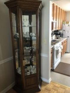 Curio & Buffet Hutch