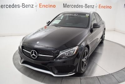 2016 Mercedes-Benz C-Class C450 AMG (Black)