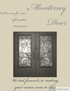 Iron Doors,Black,Brown and Gray