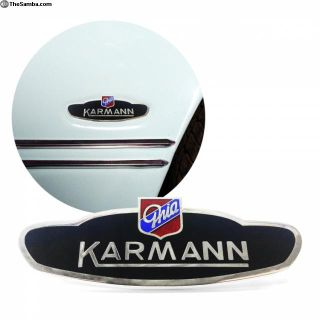 Volkswagen VW Karmann Ghia Side Body Badge Emblem