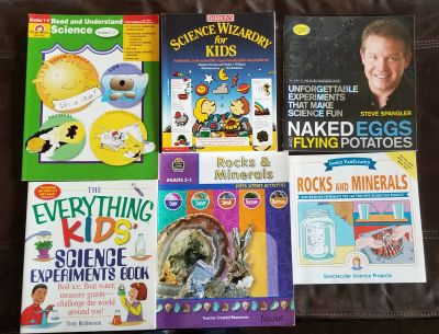 Lot of 6 Science Experiment Books for Teachers or Science Fans