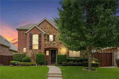 3879 Frio Way FRISCO Four BR, Stone and brick front elevation