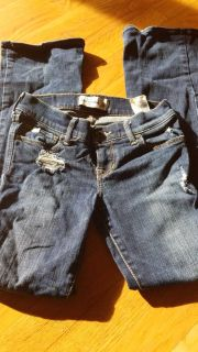 Girls Abercrombie flare Jean's size 10 guc
