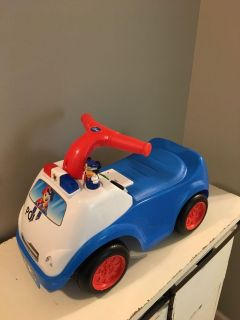 Mickey Mouse ride on police car
