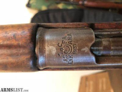 For Sale: 1937 ASFA ANKARA turkish mauser 8mm