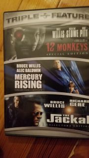 DVD - Bruce Willis Collection, 3 movies.