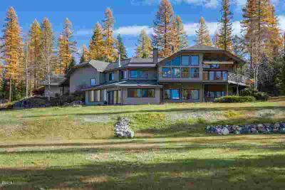 199 Stageline Drive Whitefish Four BR, Unparalleled setting with