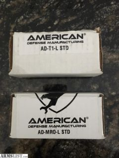 For Sale: American Defense QD Mounts