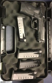 For Sale: Smith and Wesson M&P with laser grip