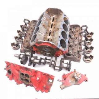 Purchase Corvette OEM 454 3963512 STD Bore CZU Block, Steel Crank, Heads, Pistons 1970 motorcycle in Livermore, California, United States, for US $4,999.97