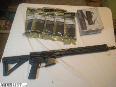 For Sale: AR-15 NEW PACKAGE DEAL!