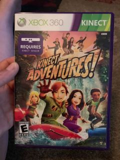 Kinect adventures Xbox 360 - ppu (near old chemstrand & 29) or PU @ the Marcus Pointe Thrift Store (on W st)