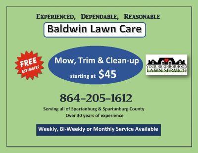Baldwin Lawn Care