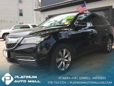 2014 Acura MDX Base w/Advance w/RES (Crystal Black Pearl)