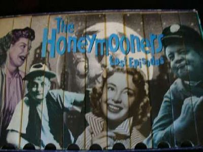 """VCR Lost Episodes of """"The Honeymooners"""""""