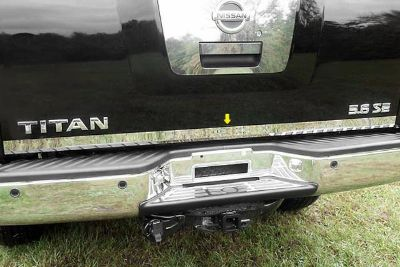 Sell SAA RD24520 04-12 Nissan Titan Tailgate Rear Deck Truck Chrome Trim Accesories motorcycle in Westford, Massachusetts, US, for US $82.80