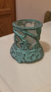 Cute metal candle holder