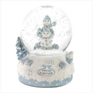 "Collectible Snowbuddies "" Forever Friends "" Musical Water Globe"