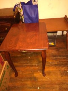 Pressed Board end Table