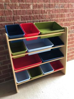 Toy organizer. Sells for $68.99 at Target