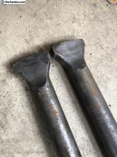 Forged chromoly long axles long splines