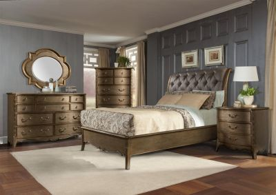 SALE!! LUXURIOUS QUEEN TUFTED UPSALE BED SET /NEW!